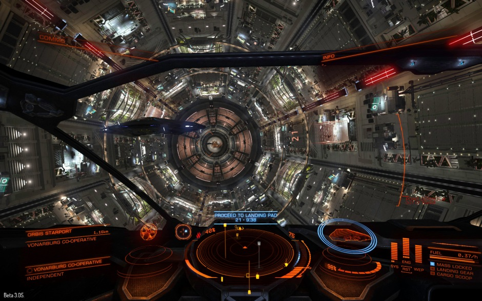 The interiors of starports are busy places and ships collisions are not uncommon - especially after a few beers