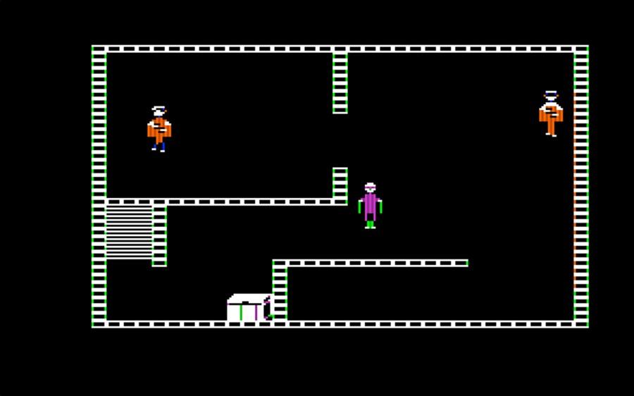 In the original Wolfenstein game the emphasis was on stealth
