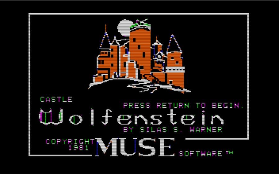 castle wolfenstein title screen