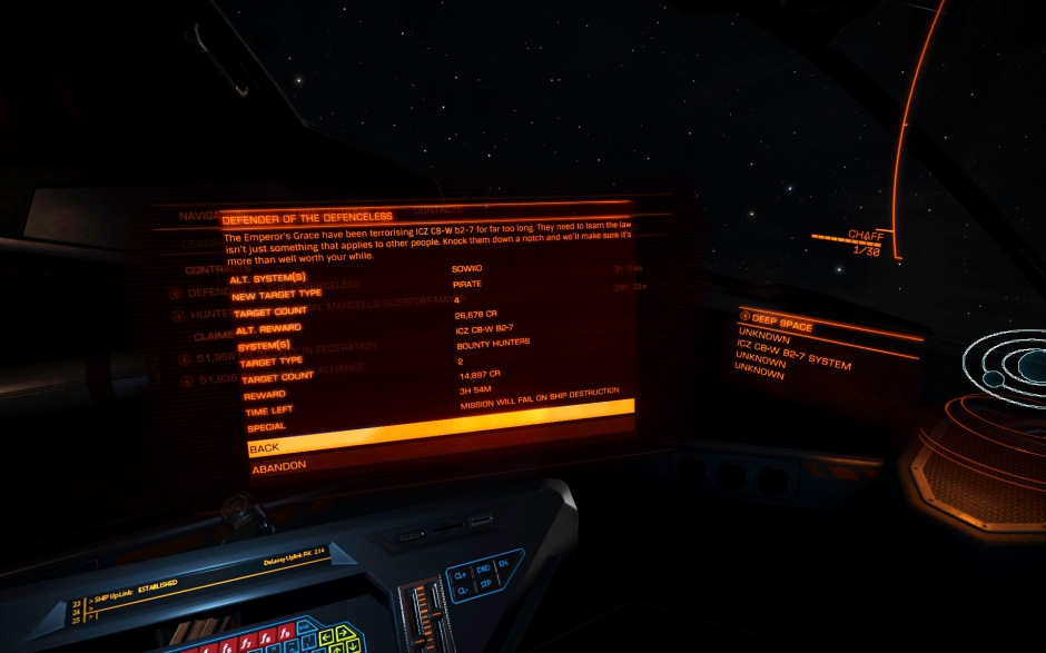 alternate mission