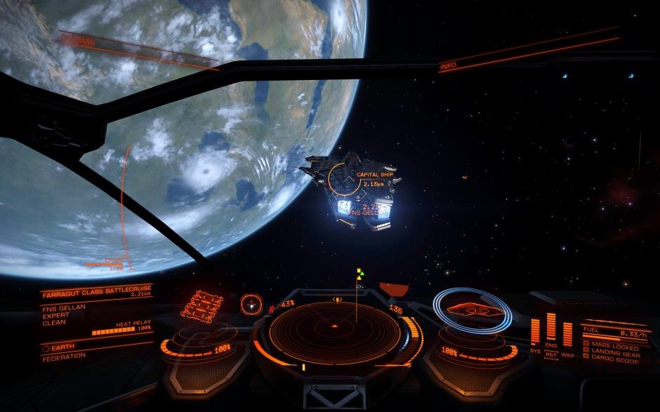 earth + capital ship 2