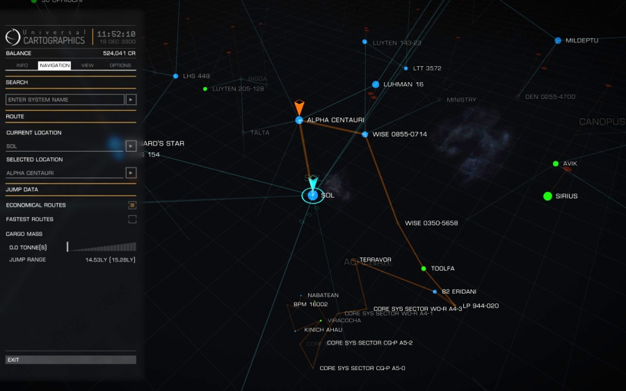 galaxy map route planner