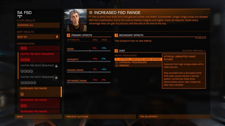 engineer preview screen