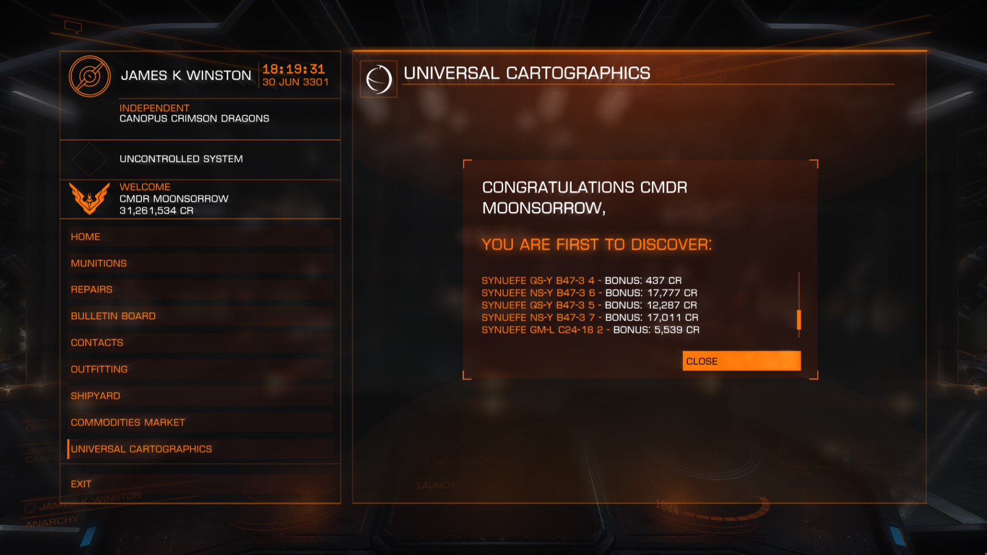 how to use data link scanner elite dangerous