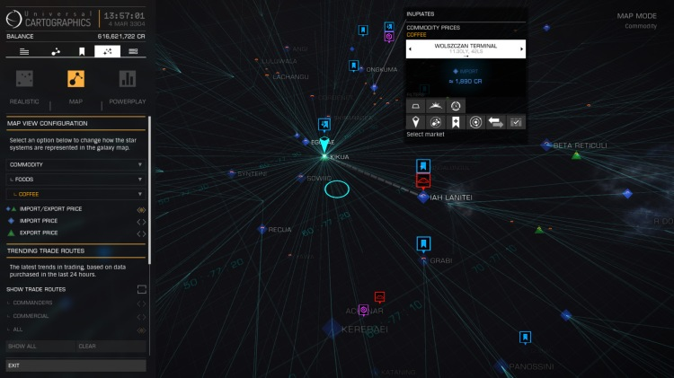 trade data galaxy map overlay