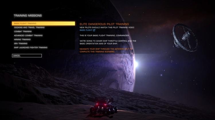 training-missions