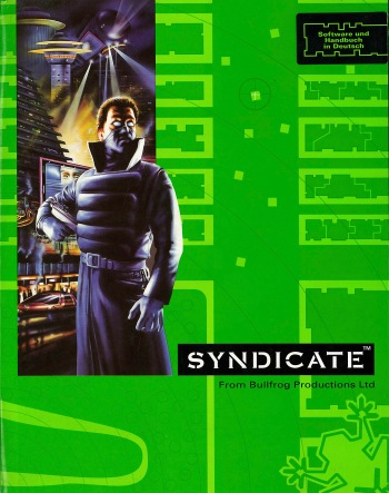 Box art from the Amiga version of Syndicate. Source: Commodore is Awesome http://awesome.commodore.me/