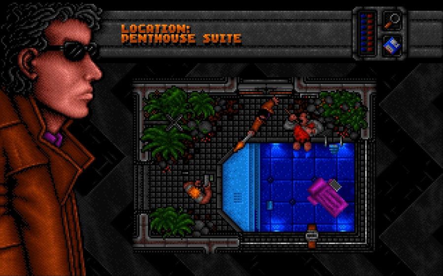 Dreamweb (1994) on the Amiga 1200