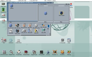 Creating an icon and .info file in Amiga Workbench