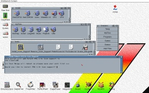 Installing PeterK's icon replacement library for Amiga Workbench