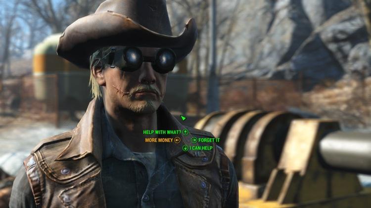 dialogue options