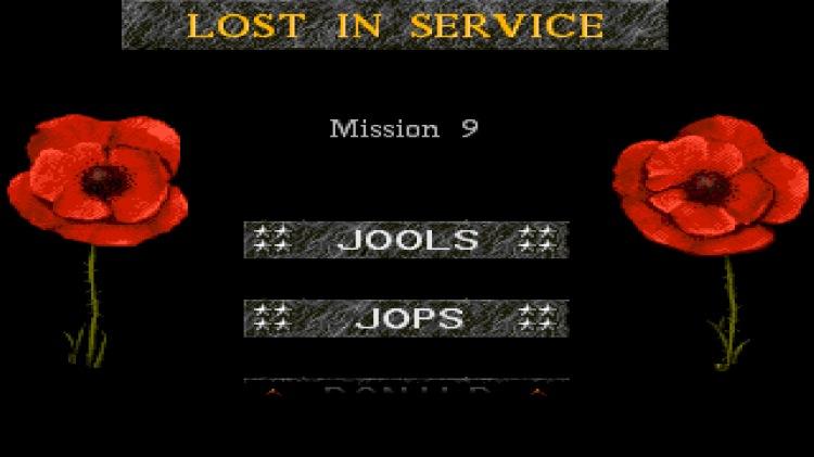 lost in service