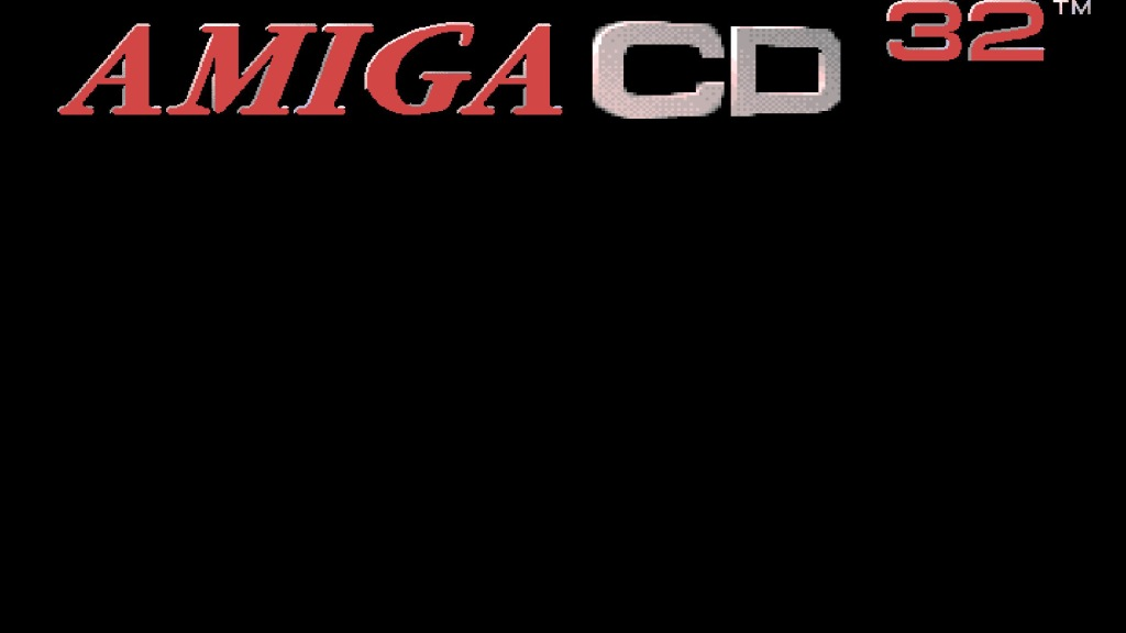 The Amiga CD32 loading screen