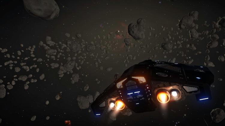 python asteroid belt external cam
