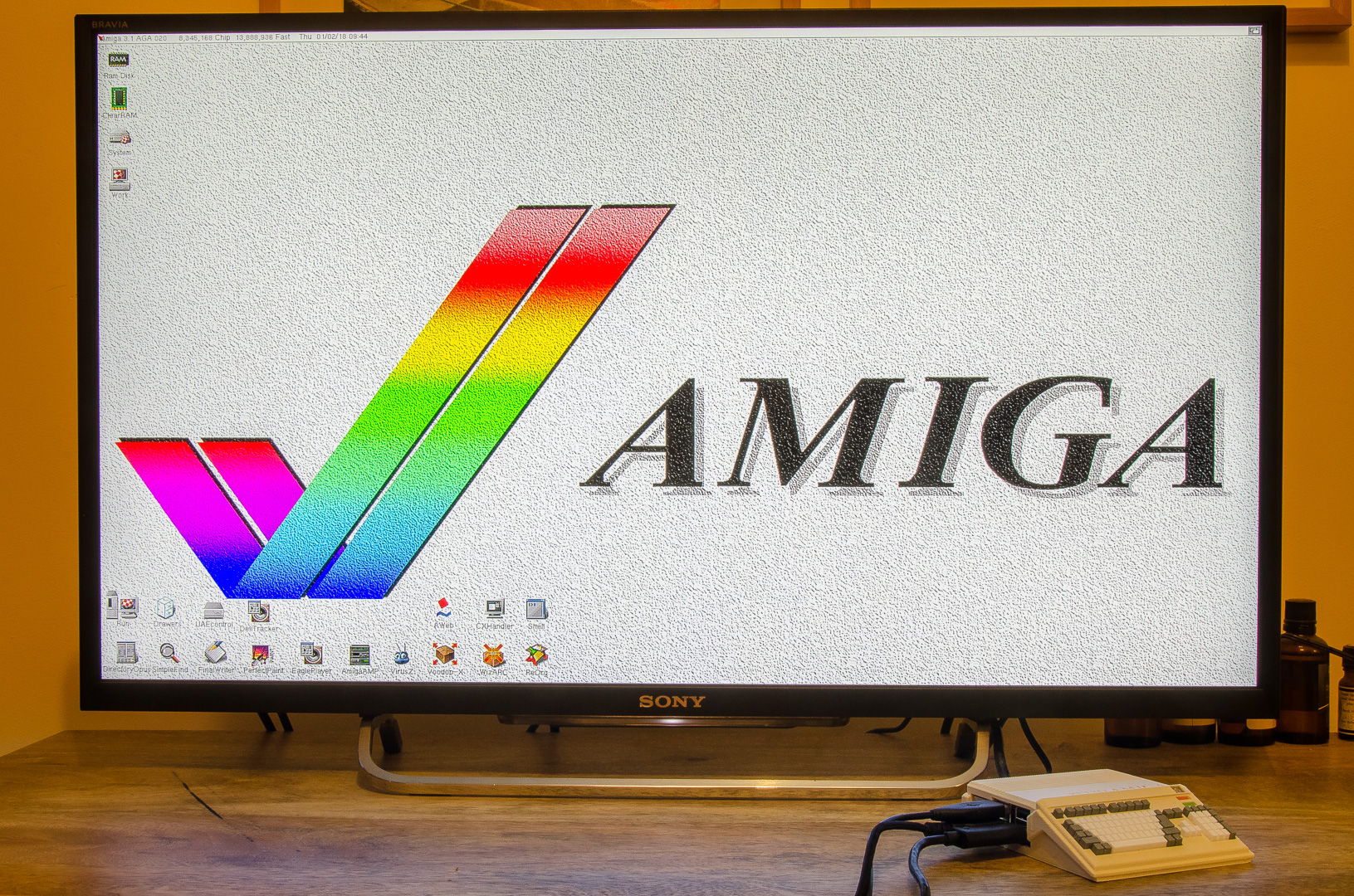 Tasty Amiga Pi: a quick overview to building a mini Amiga