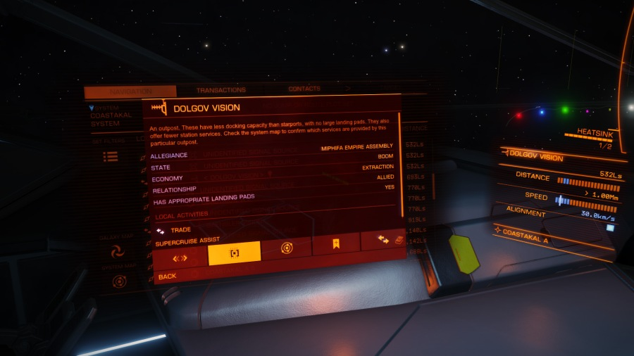 activating supercruise assist