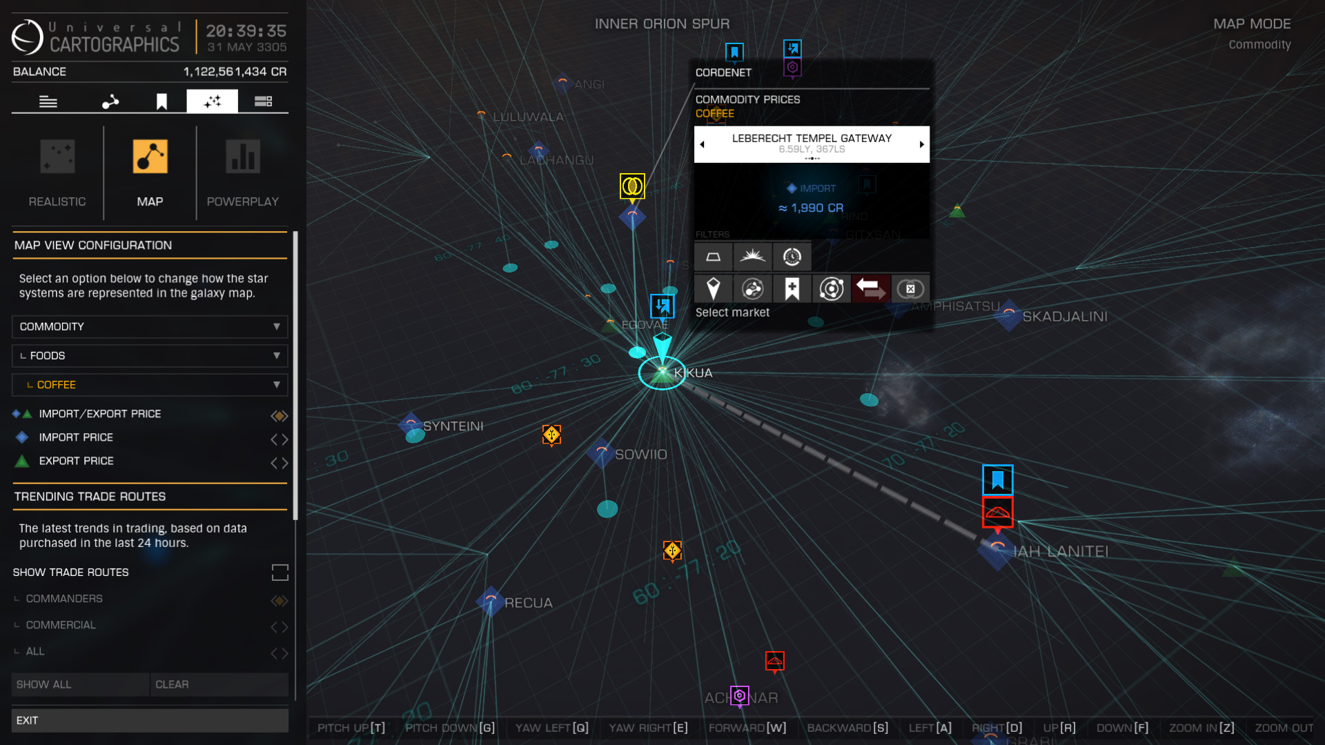 trade data galaxy map overlay